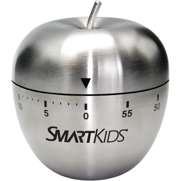 Custom Stainless Steel Winding Apple Timer