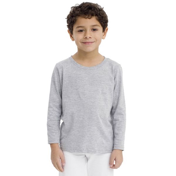 Promotional Kids Fine Jersey Long Sleeve T