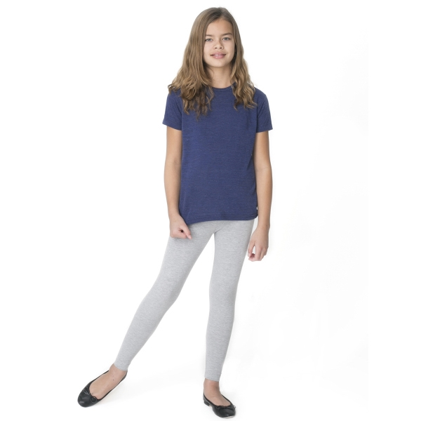 Personalized Youth Cotton Spandex Jersey Legging