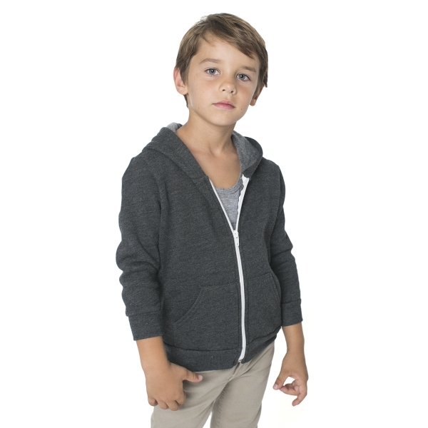 Custom Kids Flex Fleece Zip Hoody