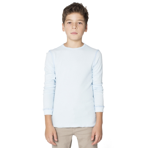 Printed Youth Baby Thermal Long Sleeve T