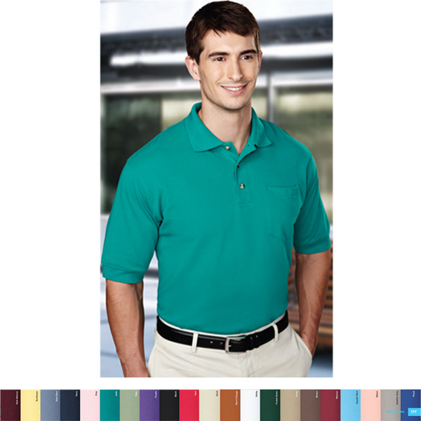 Personalized Image - Men's Golf Shirt with Pocket