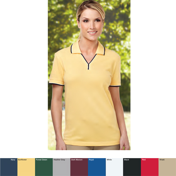 Printed Journey - Women's Polyester Golf Shirt
