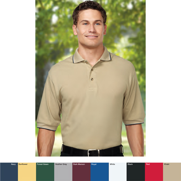 Personalized Pursuit - Men's Polyester Golf Shirt