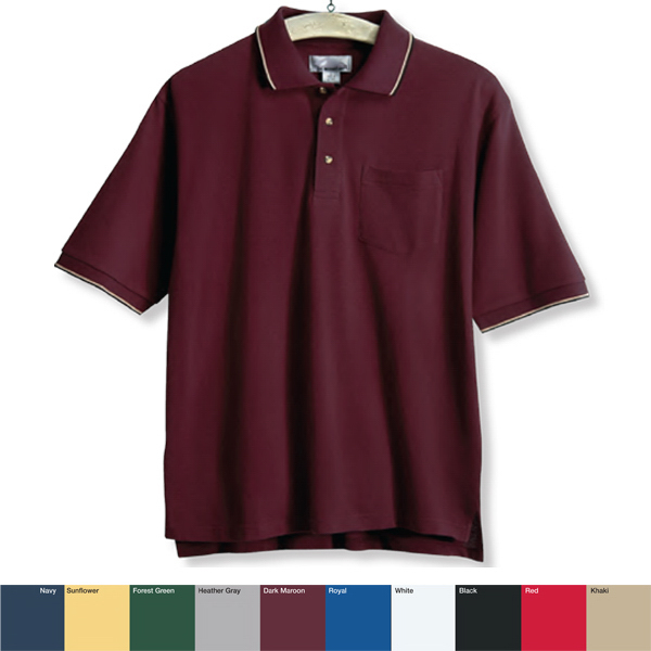 Customized Conquest - Men's Golf Shirt with Pocket