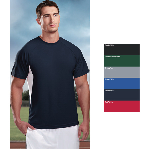 Promotional Energy - Men's Micromesh Crewneck Shirt