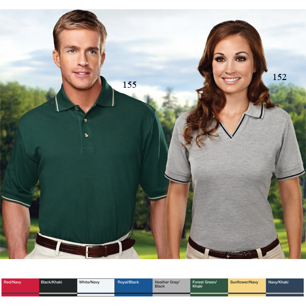 Imprinted Streamline - Men's Pique Golf Shirt