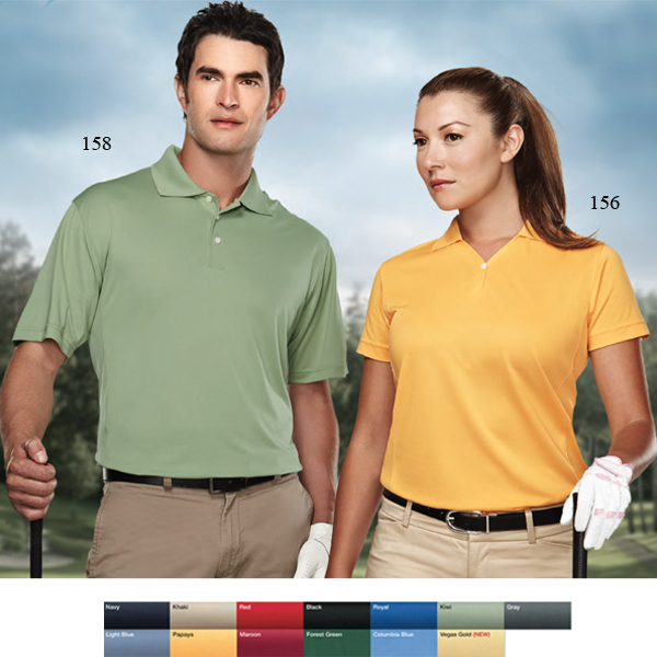 Custom Vision - Women's Polyester Pique Golf Shirt
