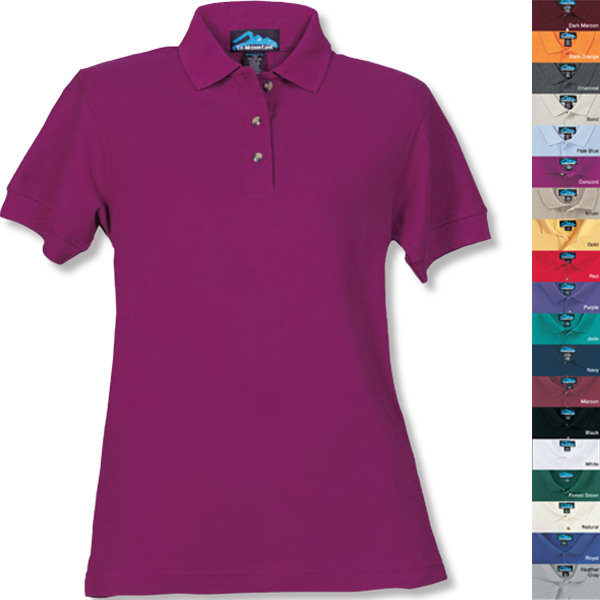 Printed Autograph - Women's Pique Golf Shirt