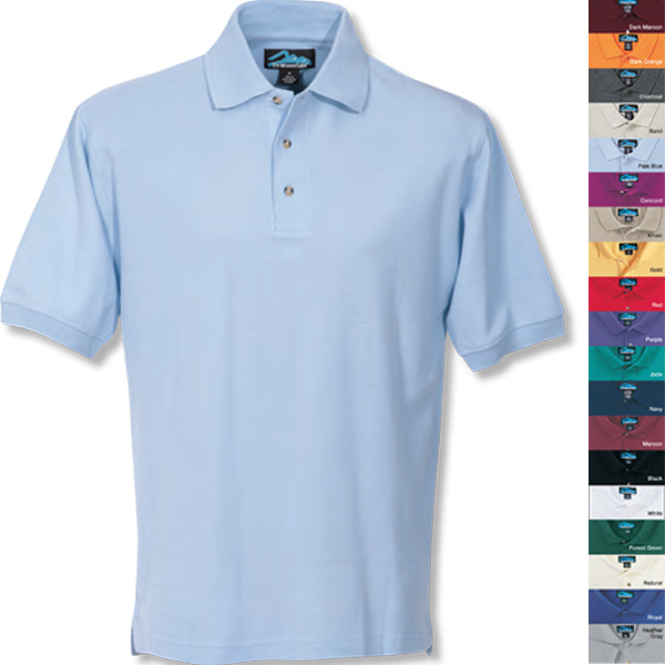 Customized Signature - Men's Pique Golf Shirt