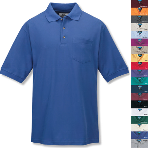 Promotional Signature Ltd. - Pique Golf Shirt with Pocket