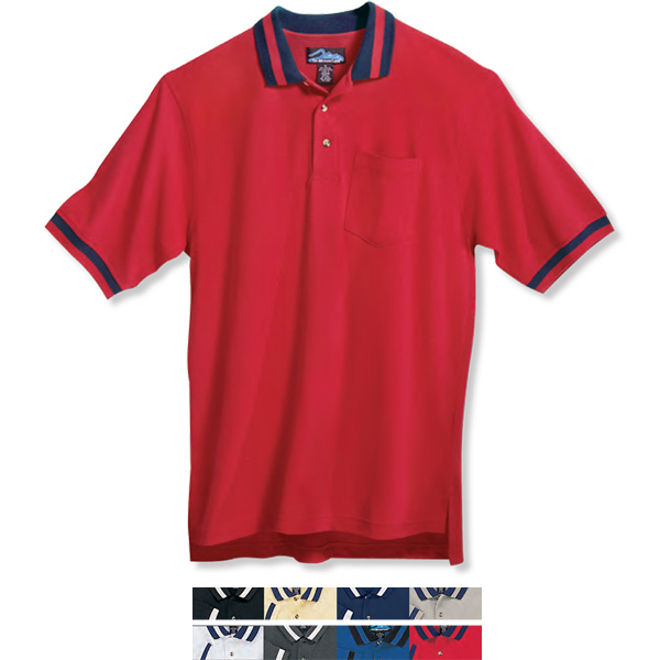 Imprinted Teammate - Pique Knit Golf Shirt