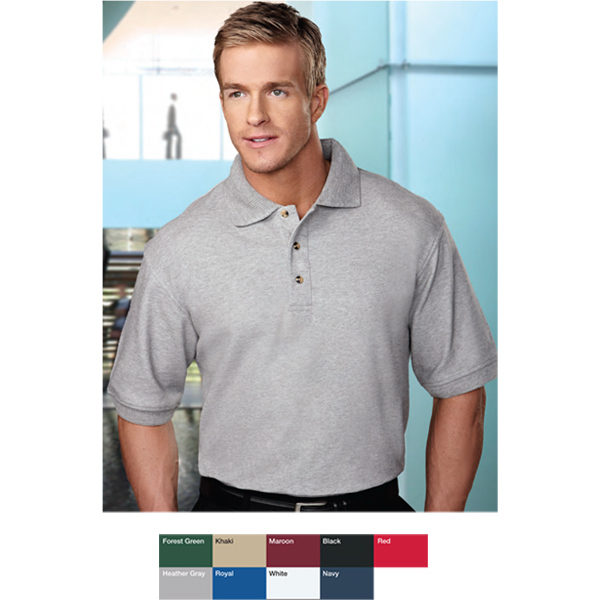 Printed Advantage - Men's Pique Knit Golf Shirt