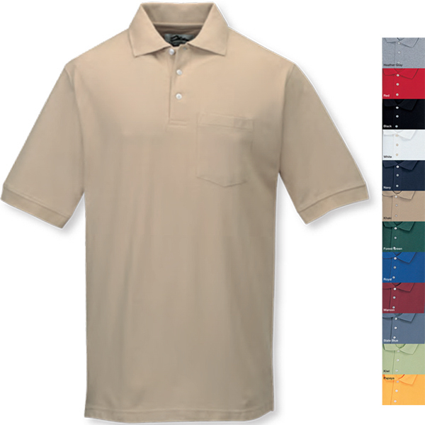 Customized Caliber Ltd. - Golf Shirt with Pocket