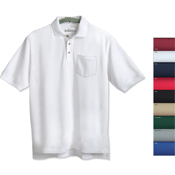 Promotional Engineer - Men's Pique Golf Shirt