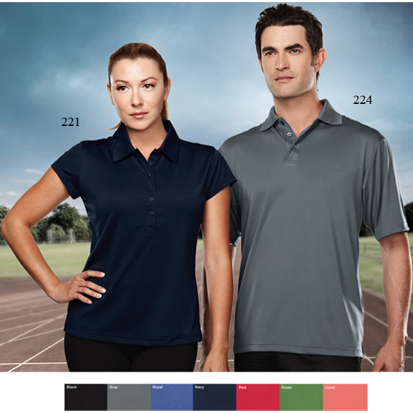 Promotional Campus - Men's Polyester Golf Shirt