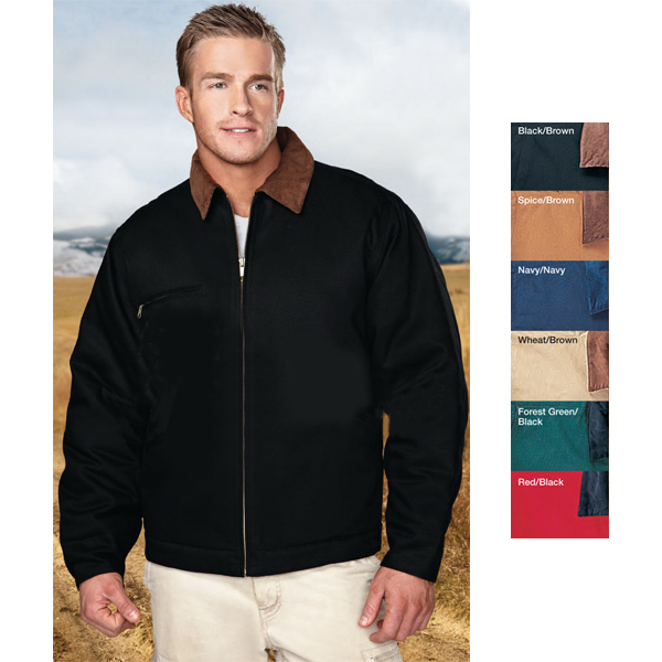 Personalized Pathfinder - Jacket with Corduroy Collar