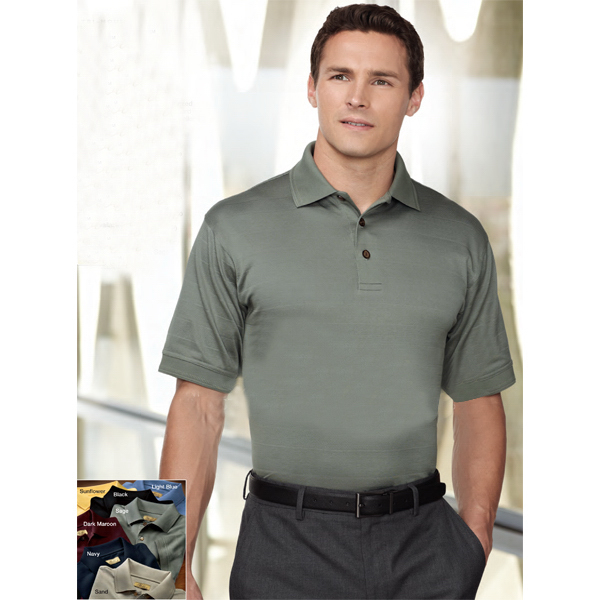 Custom Covington - Men's Cotton Golf Shirt