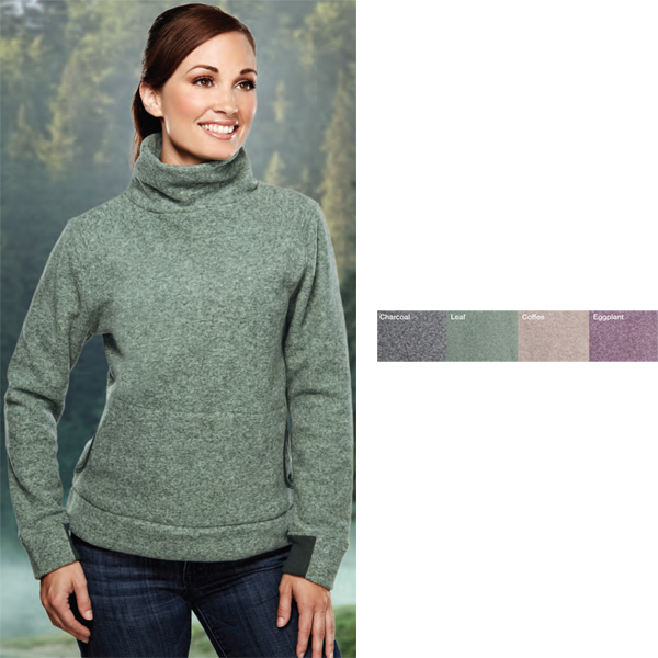 Customized Solace - Women's Polyester Micro Fleece Turtleneck