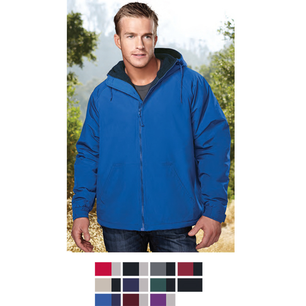 Printed Conqueror - Windproof/Water Resistant Hooded Jacket