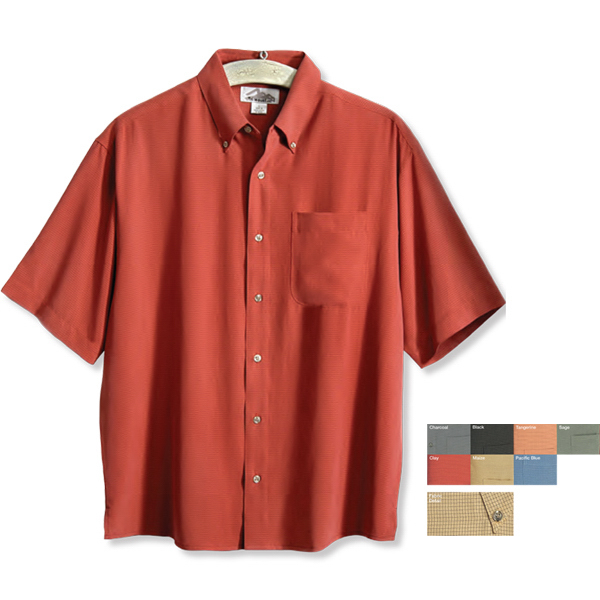 Personalized Envoy - Men's Microfiber Short Sleeve Shirt