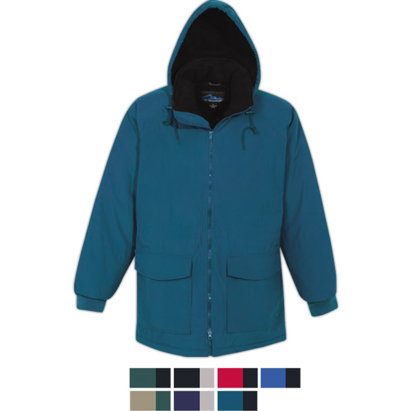 Personalized Woodsman - Windproof/Water Resistant Parka