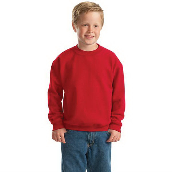 Personalized Gildan® youth Heavy Blend® crewneck sweatshirt