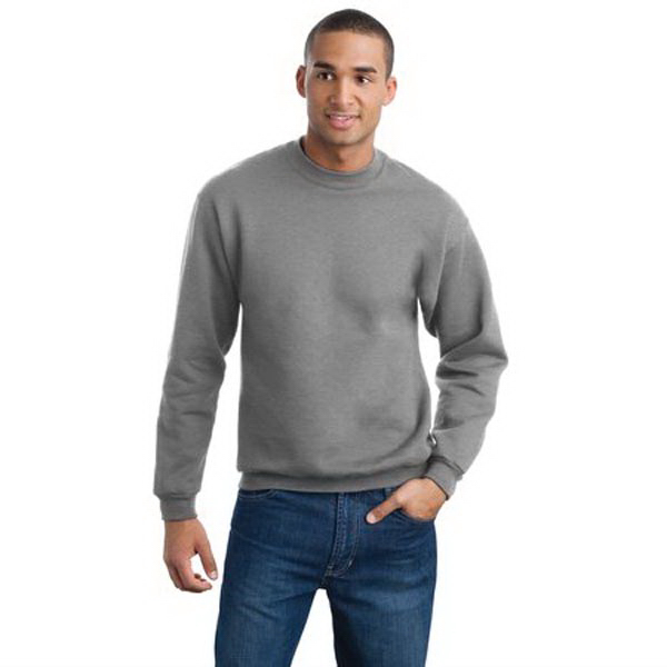 Personalized Jerzees® Super Sweats® crewneck sweatshirt