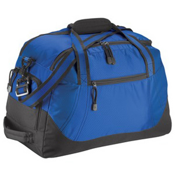 Customized Port Authority® honeycomb duffel