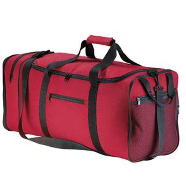 Personalized Port Authority® packable travel duffel