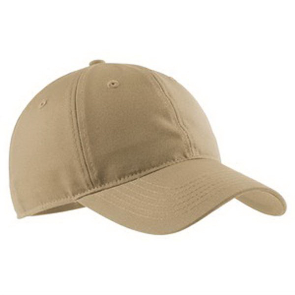 Customized Port Authority® soft brushed canvas cap