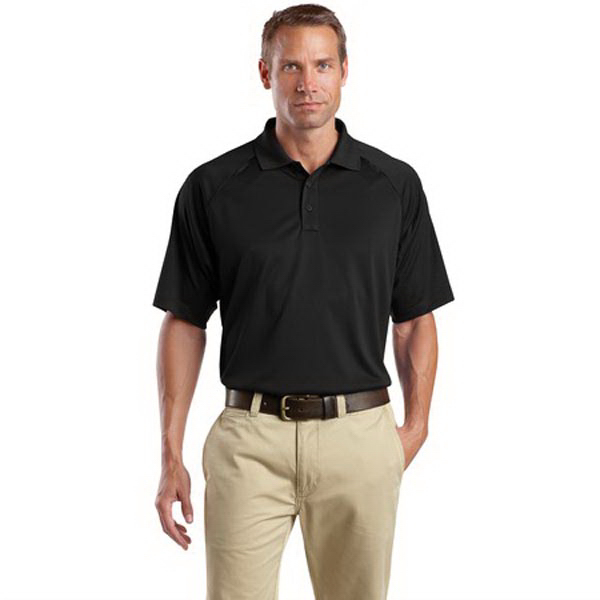 Personalized Cornerstone® select snag-proof tactical polo