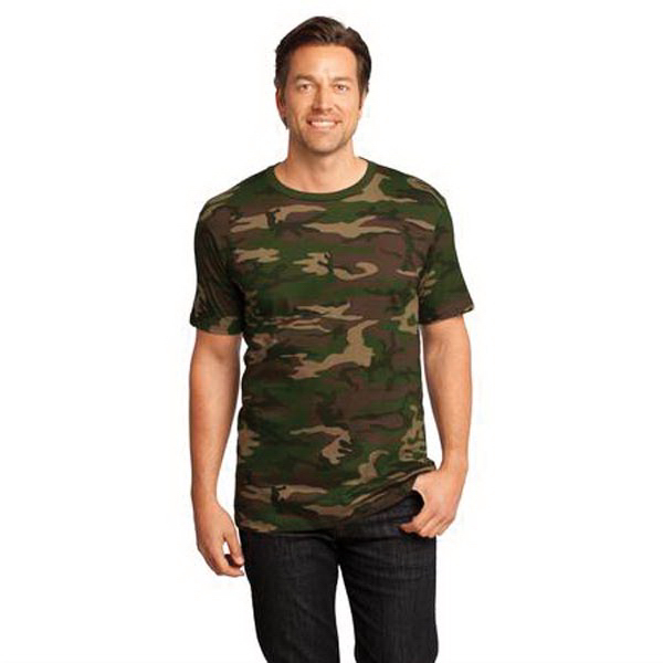 Custom District Threads® short sleeve District® camo tee