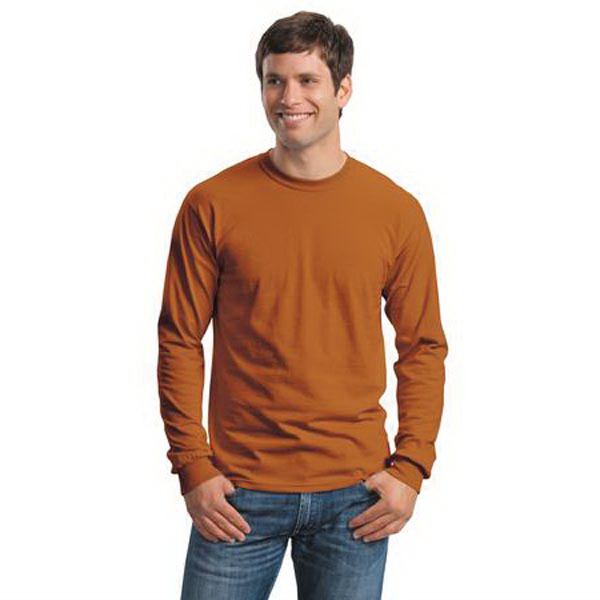 Custom Gildan - Ultra Cotton ® 100% Cotton Long Sleeve T-Shirt