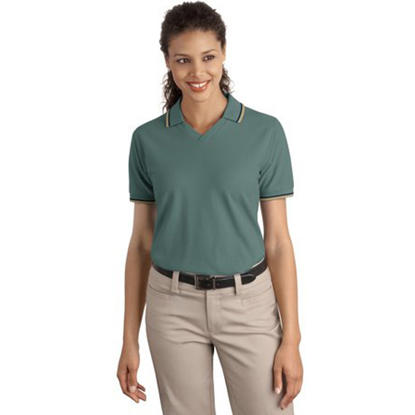Imprinted Port Authority® Ladies' Cool Mesh(RTM) sport polo
