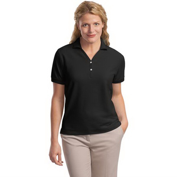 Personalized Port Authority® Ladies 100% pima cotton sport polo