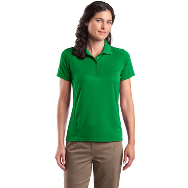 Imprinted Sport-tek® Ladies' Dry Zone (TM) Polo Shirt