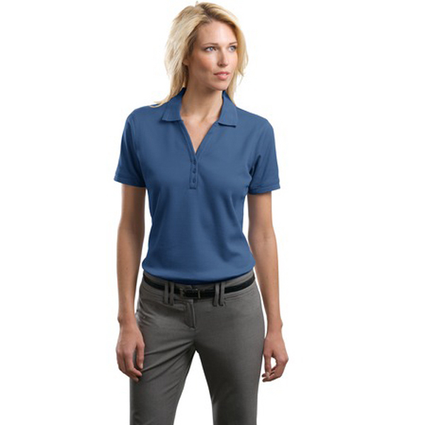 Promotional Port Authority® Ladies' performance waffle mesh sport polo