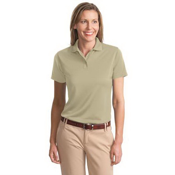 Promotional Port Authority® Ladies bamboo blend pique sport shirt