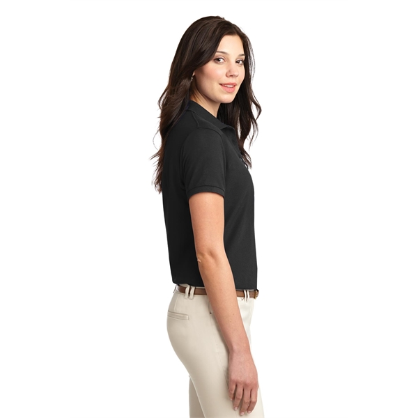 Customized Port Authority® Ladies' Silk Touch polo