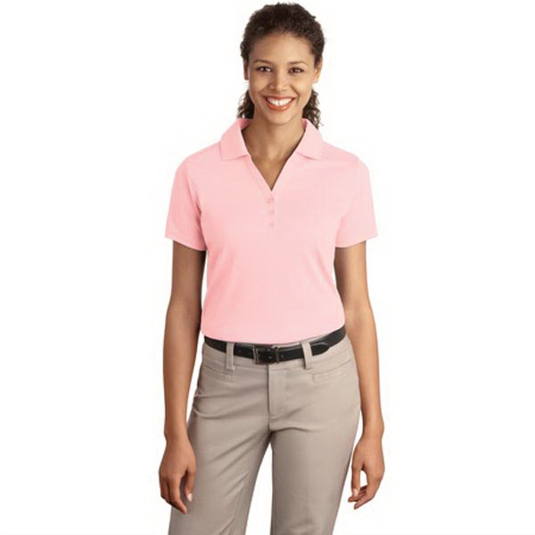 Customized Port Authority® Ladies' Silk Touch interlock sport polo