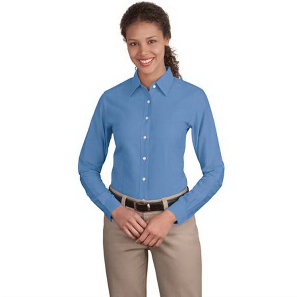 Custom Port Authority® Ladies' classic oxford