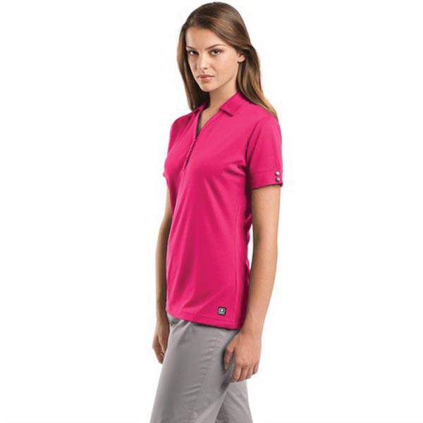 Customized Ogio® Glam Ladies' polo with a contoured fit
