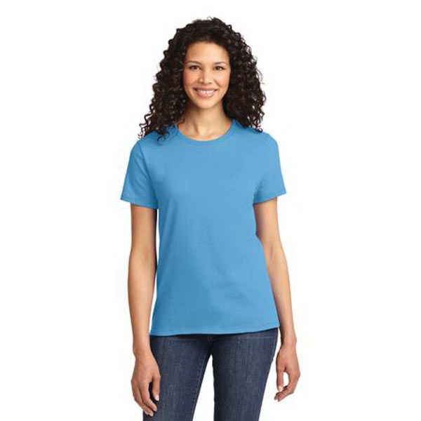Custom Port & Company® ladies' essential t-shirt