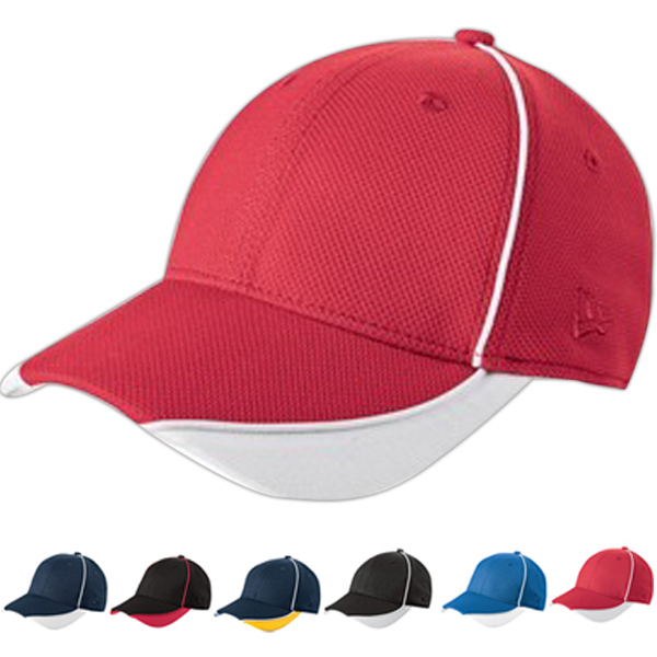 Promotional New Era® contrast piped BP performance cap