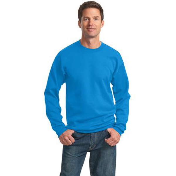 Imprinted Port & Company® Classic crewneck sweatshirt