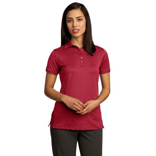 Printed Red House® Ladies' ottoman performance polo
