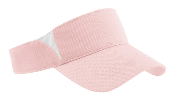 Personalized Port Authority® Sport-Tek® Dry Zone(TM) colorblock visor