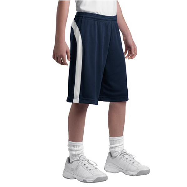 Promotional Sport-tek® youth Dry Zone Colorblock Short