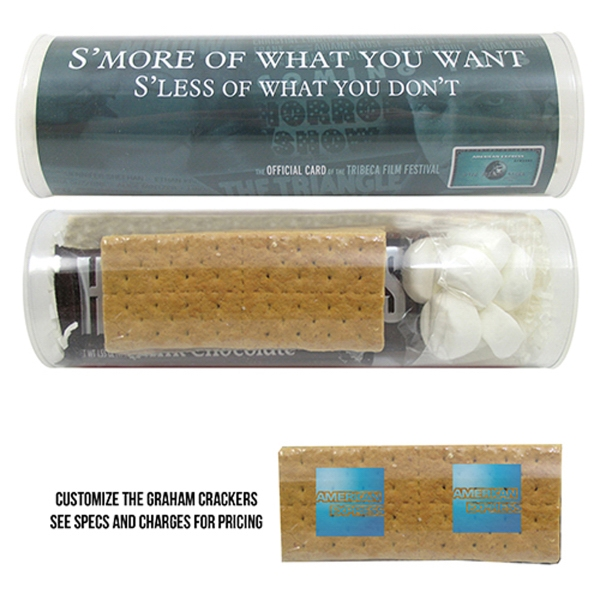 Printed Small Smore's Kit Tube / Microwave Kit